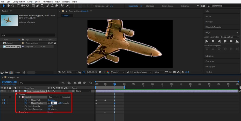 Rotoscoping in After Effects - 14