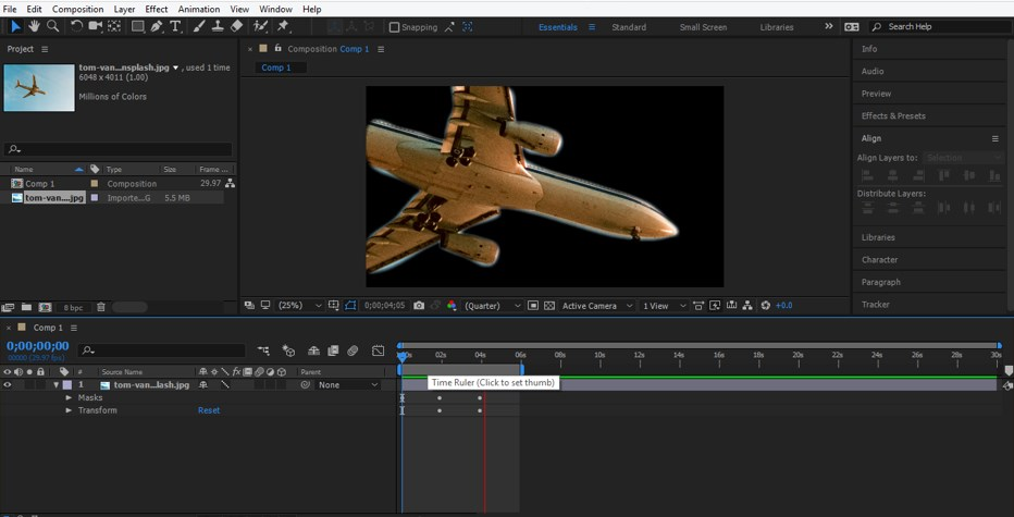 Rotoscoping in After Effects - 15