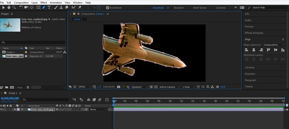 Rotoscoping in After Effects - 6
