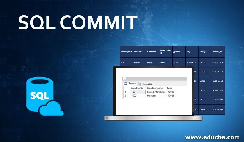SQL COMMIT