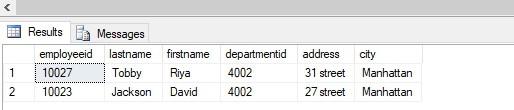 SQL Delete Join 1-5