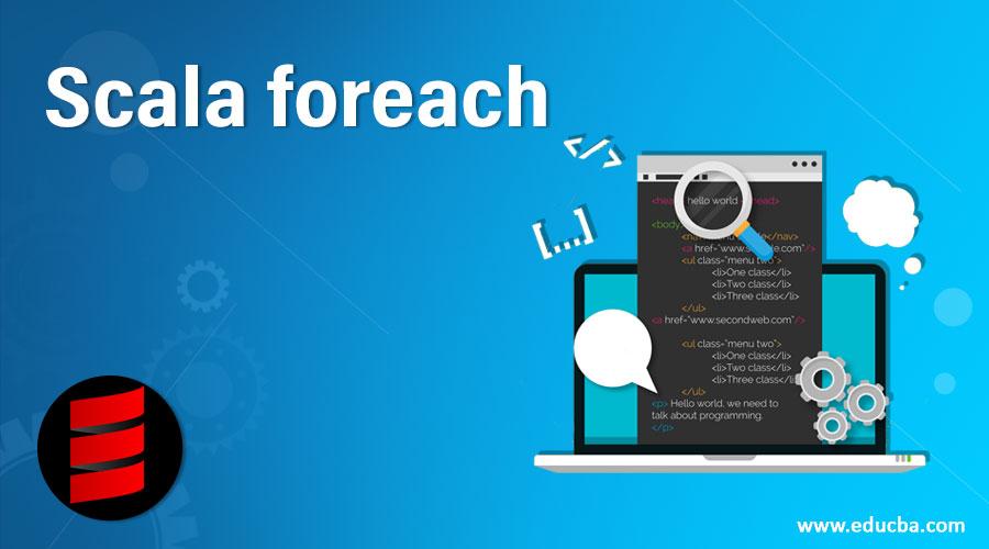 Scala foreach