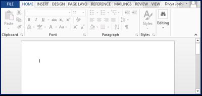 Scrollbar in HTML Example 1
