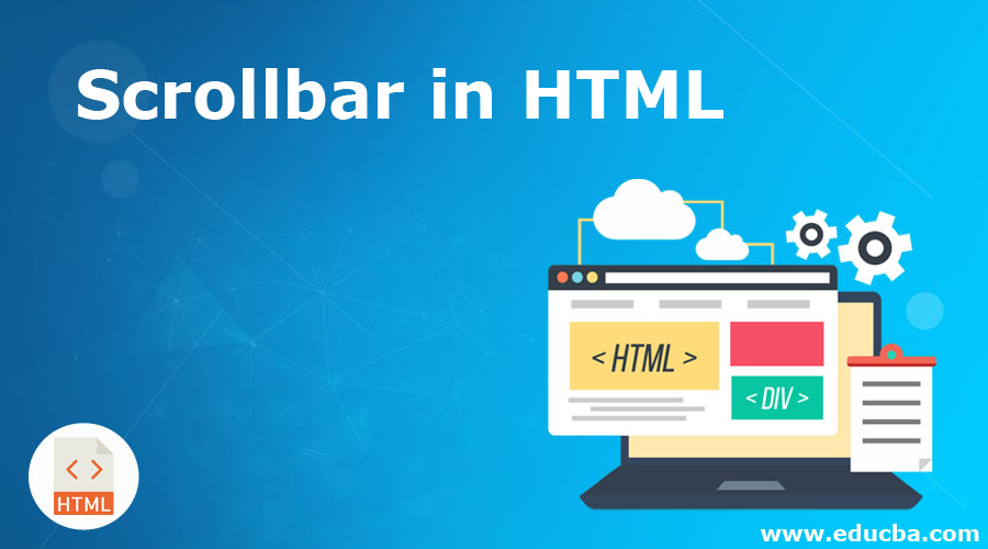 Scrollbar in HTML