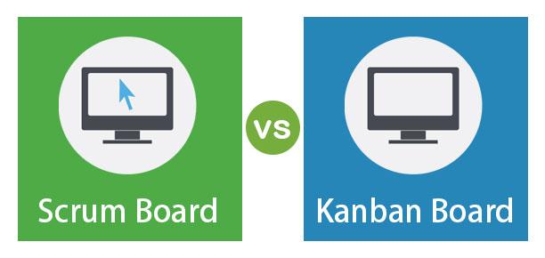 Scrum Board vs Kanban Board Main
