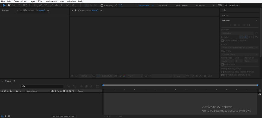 Slider Control After Effects - 1