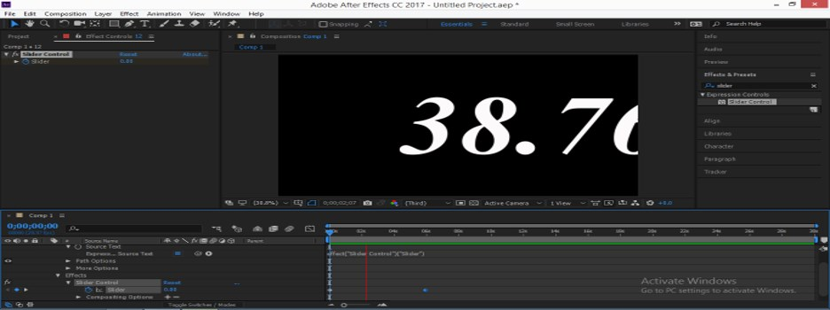 Slider Control After Effects - 19