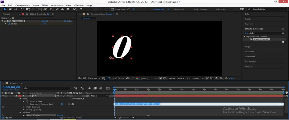 Slider Control After Effects - 20