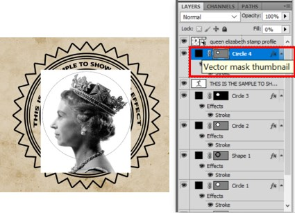 Stamp Effect in Photoshop - 30