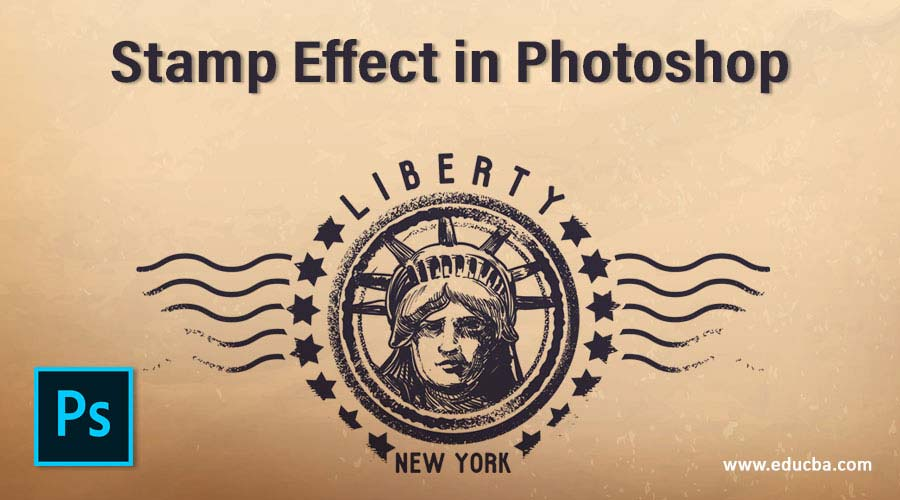 Stamp Effect in Photoshop
