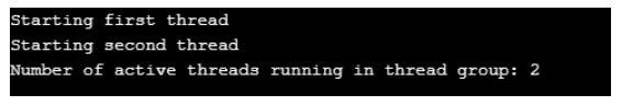 ThreadGroup in Java 1