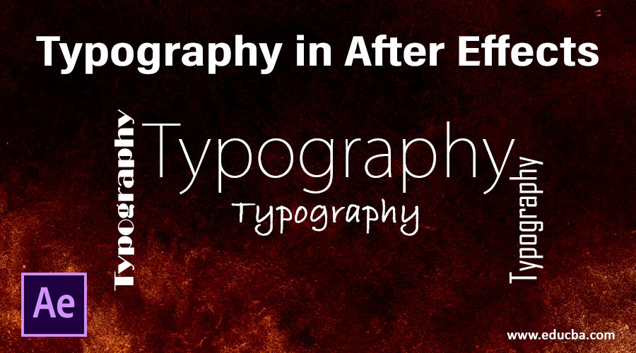 Typography in After Effects