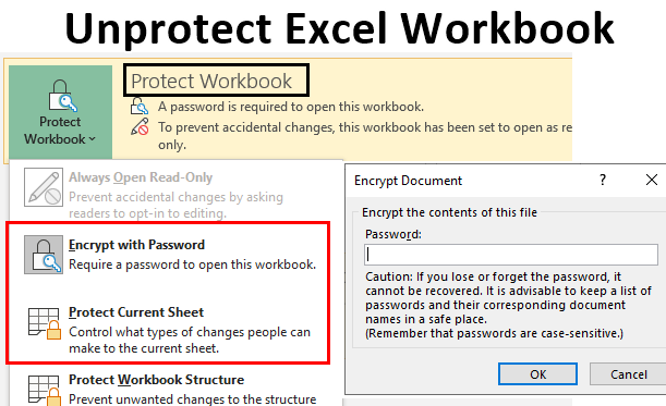 Unprotect Excel Workbook