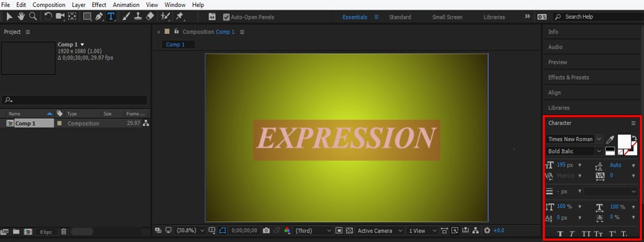 Wiggle Expression in After Effects - 13