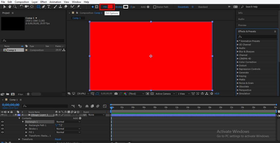 Wiggle Expression in After Effects - 7