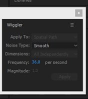 Wiggle in After Effects - 11