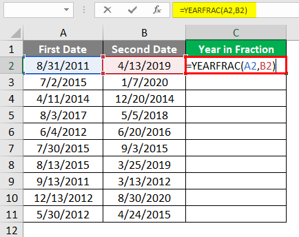 Year in Fraction 3-1