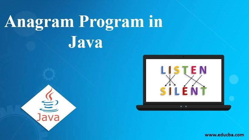 anagram program in java