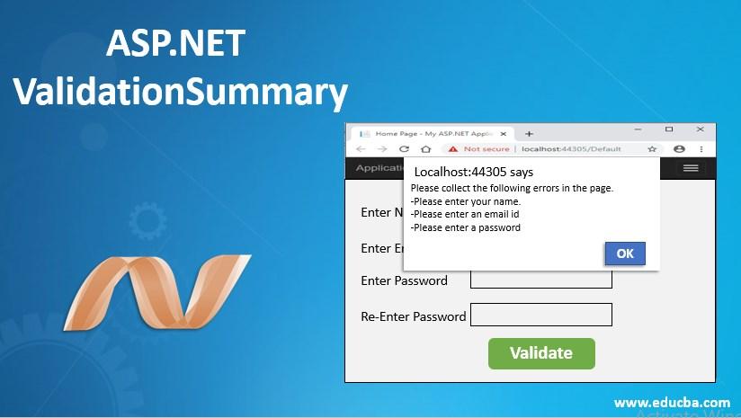 asp.net validationsummary