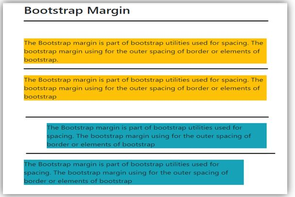 bootstrap margin 2