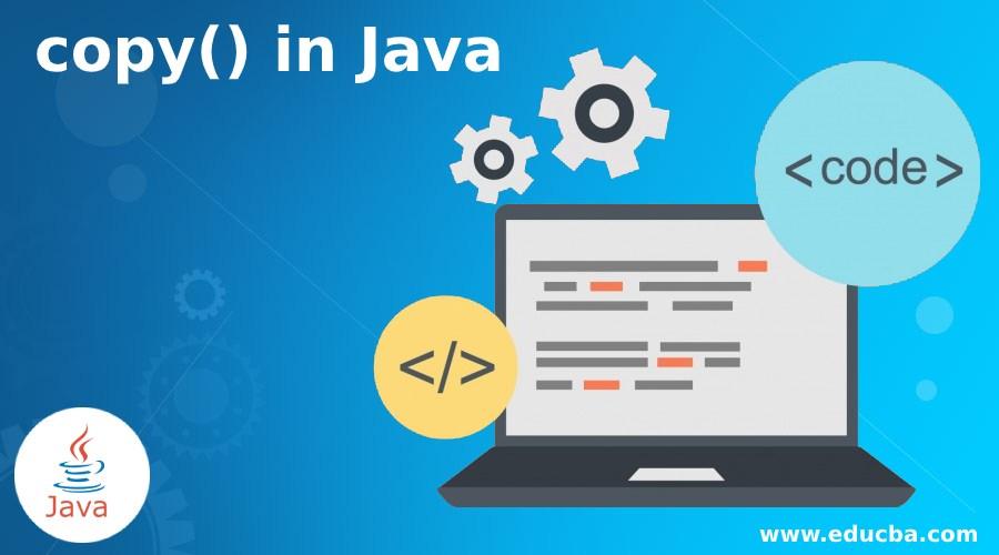 copy() in Java