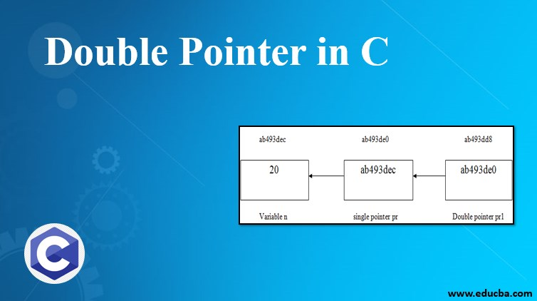 double pointer in c