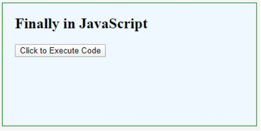 finally in javascript 1