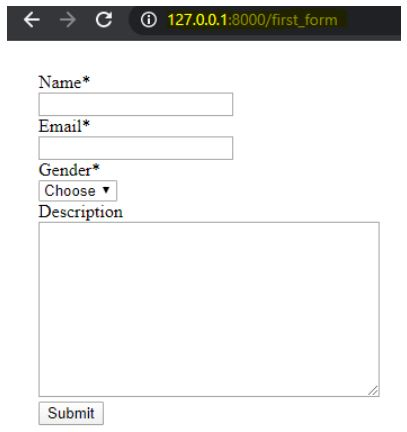 form validation in django 1