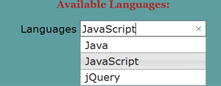 jQuery Autocomplete - 2