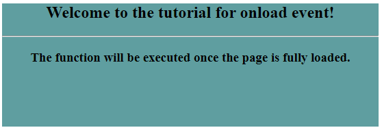 jQuery onload-1.2