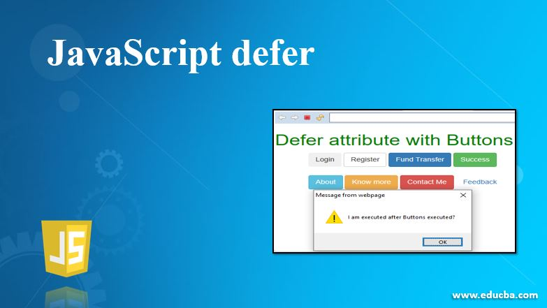 javascript defers