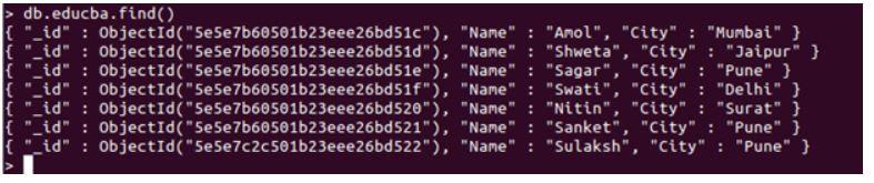 mongoDB limit() 1