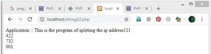 php preg_split() 4