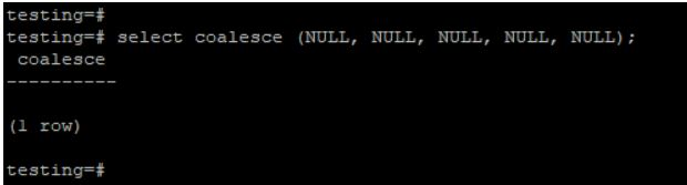 we are passing all null values
