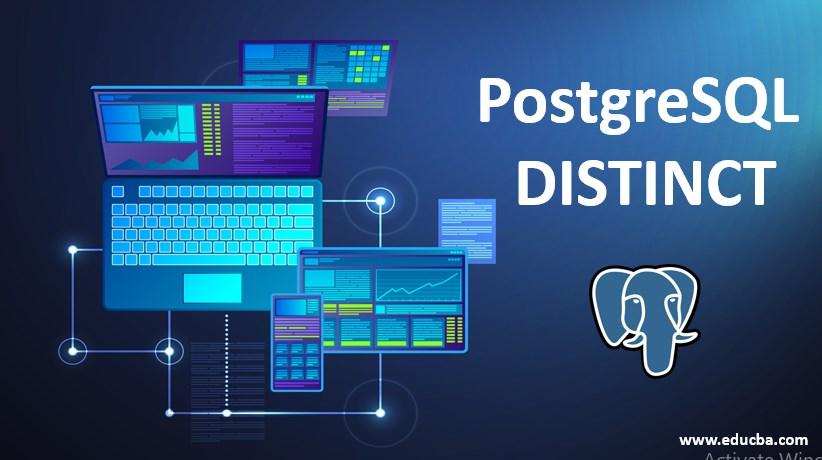 postresql distnict