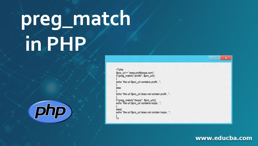 preg_match in PHP