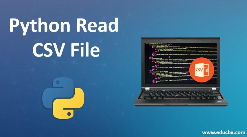 python reead csv file
