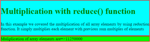 reduce() Function JavaScript - 2