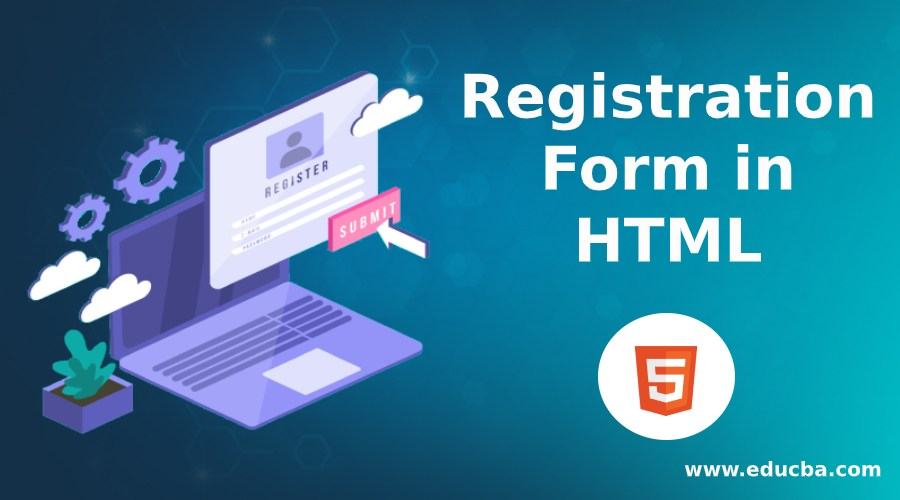 registarion form in html