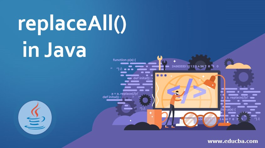 replaceAll() in Java