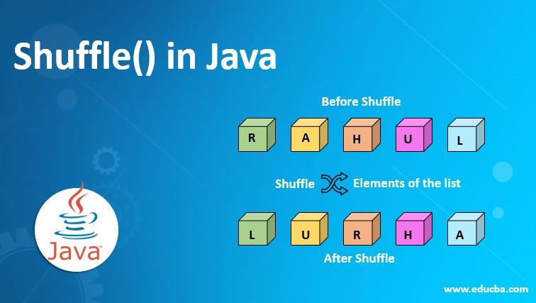 Shuffle() in Java