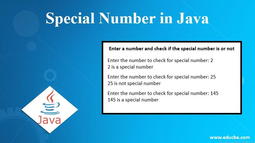specisl number in java