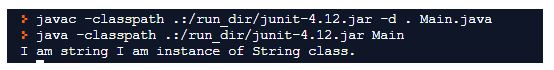 string class in java 4