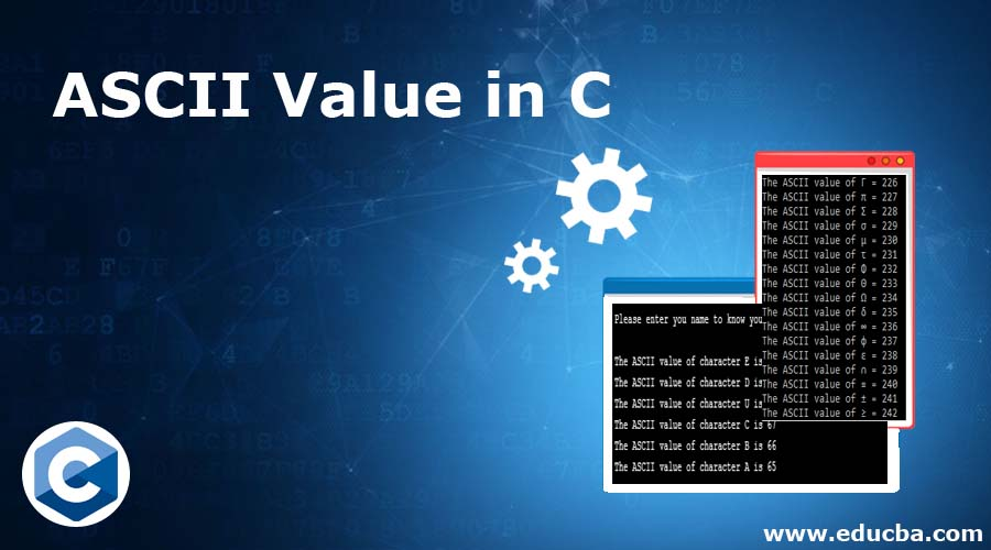 ASCII Value in C
