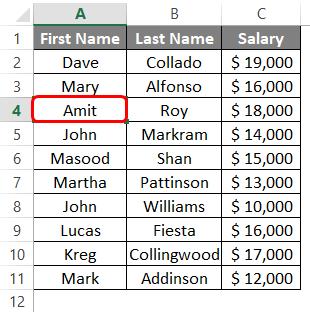 Add Rows in Excel Shortcut 1-2