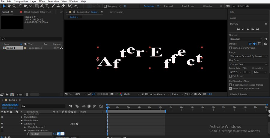After Effects Expressions - 17