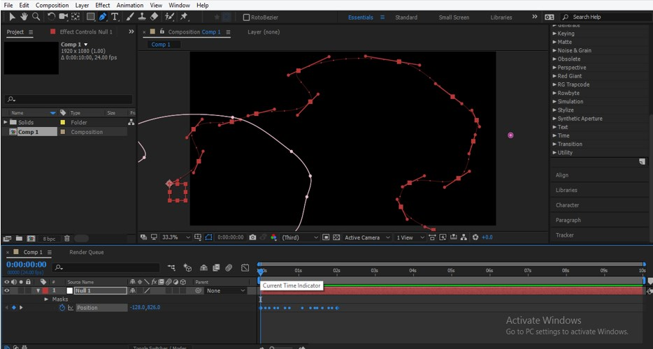 After Effects Particles - 11