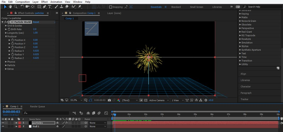 After Effects Particles - 16