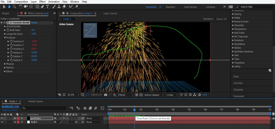 After Effects Particles - 20