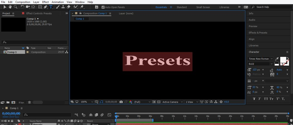 After Effects Presets - 14